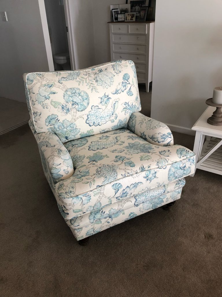 Floral Sitting Chair